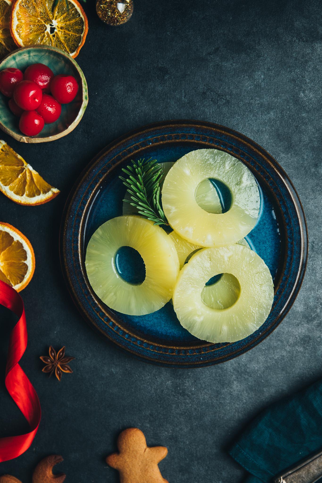 prajitura rasturnata cu ananas