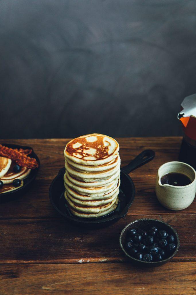 pancakes cu bere